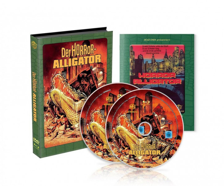 Der Horror-Alligator - Mediabook - [Blu-ray+DVD]