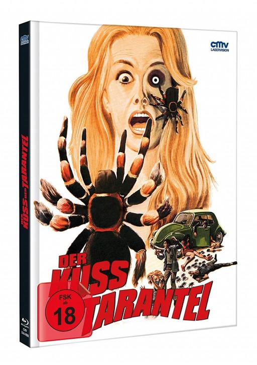 Der Kuss der Tarantel - Limited Mediabook - Cover A [Blu-ray+DVD]