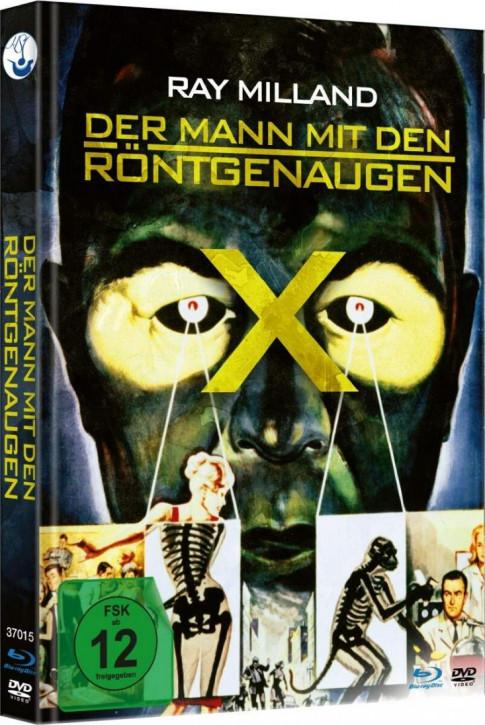 Der Mann mit den Röntgenaugen - Limited Mediabook [Blu-ray+DVD]