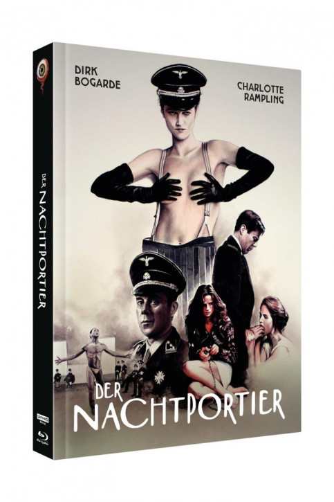 Der Nachtportier - Limited Collectors Edition Cover C [4K UHD+Blu-ray]
