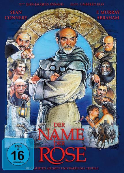 Der Name der Rose - Limited Mediabook [Blu-ray+DVD]