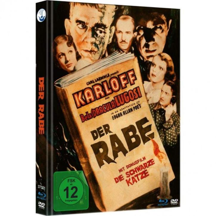 Der Rabe - Limited Mediabook [Blu-ray+DVD]