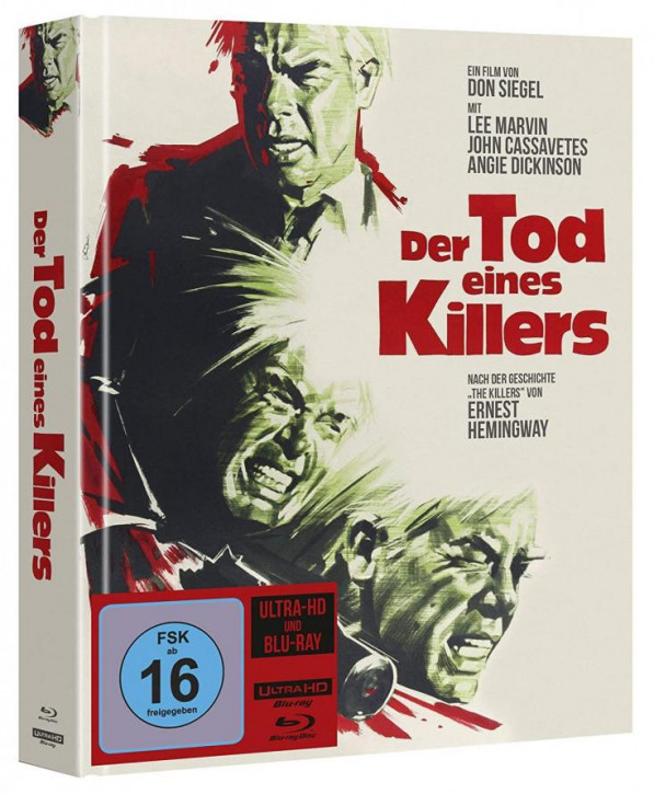 Der Tod eines Killers - Limited Mediabook [4K UHD+Blu-ray]