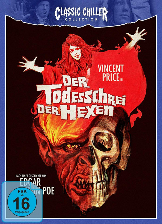 Der Todesschrei der Hexen - Classic Chiller Collection [Blu-ray+DVD]
