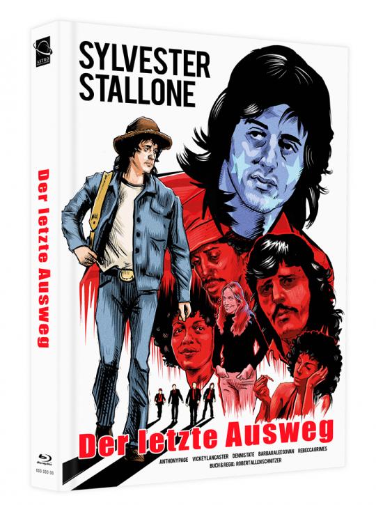 Der letzte Ausweg - Mediabook - Cover H [Blu-ray]
