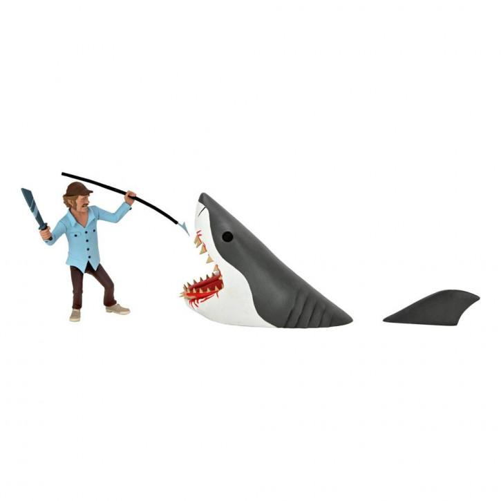 Der weiße Hai - Actionfiguren Doppelpack - Toony Terrors Jaws & Quint