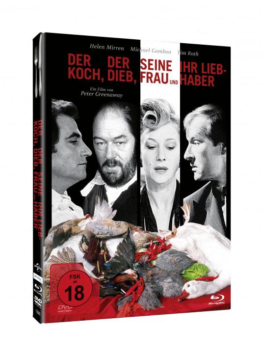 Der Koch, der Dieb, seine Frau und ihr Liebhaber - Mediabook [Blu-ray+DVD]