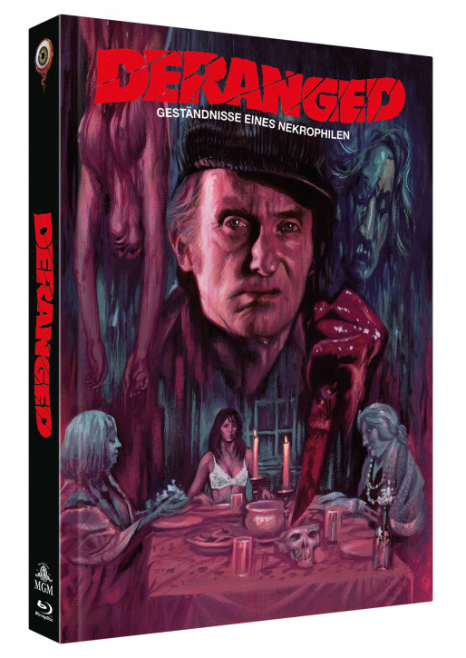 Deranged - Limited Collectors Edition Mediabook - Cover B [Blu-ray+DVD]