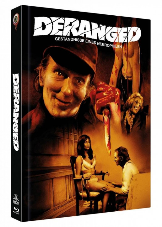 Deranged - Limited Collectors Edition Mediabook - Cover C [Blu-ray+DVD]