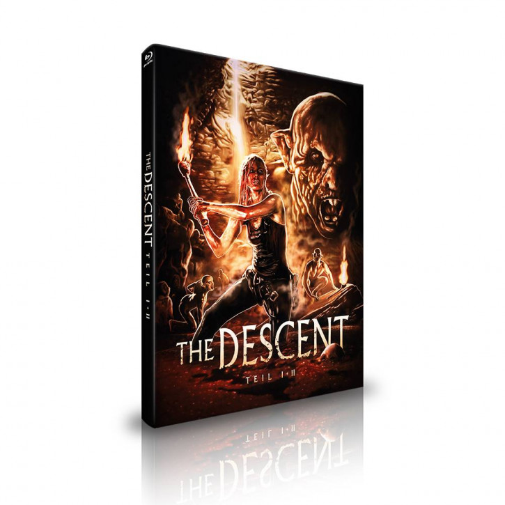 Descent 1 & 2 - Limited Mediabook - Cover A [Blu-ray]