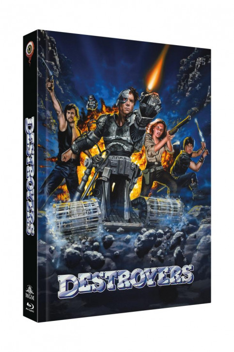 Destroyers - Limited Collectors Edition - Cover A [Blu-ray+DVD]