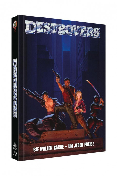 Destroyers - Limited Collectors Edition - Cover B [Blu-ray+DVD]
