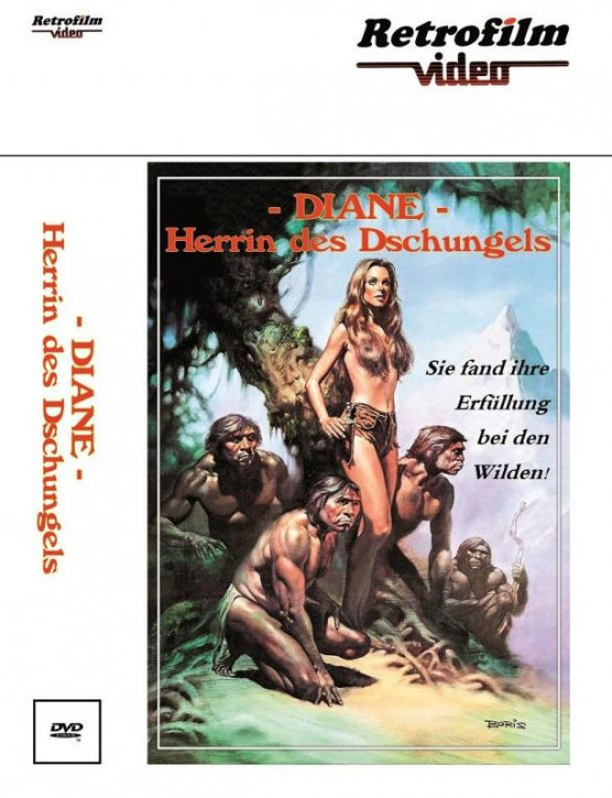 Diane - Herrin des Dschungels - große  Hartbox - Cover A [DVD]
