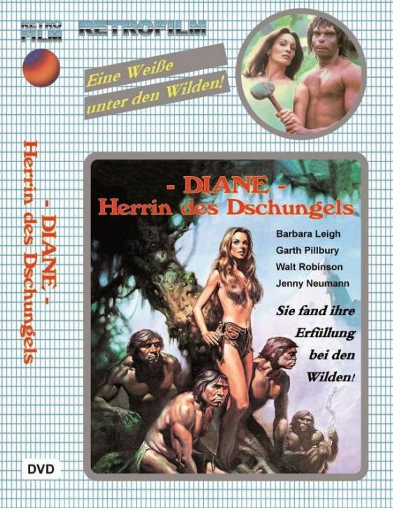Diane - Herrin des Dschungels - große  Hartbox - Cover B [DVD]