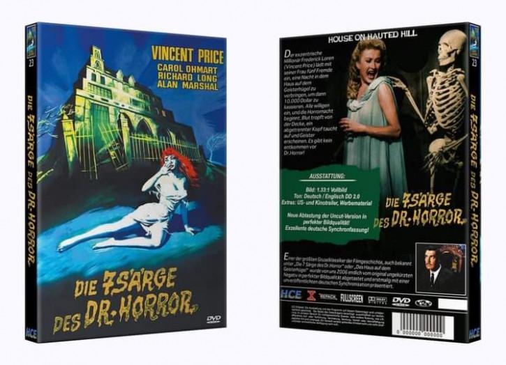 Die 7 Särge des Dr Horror - Große Hartbox [DVD]