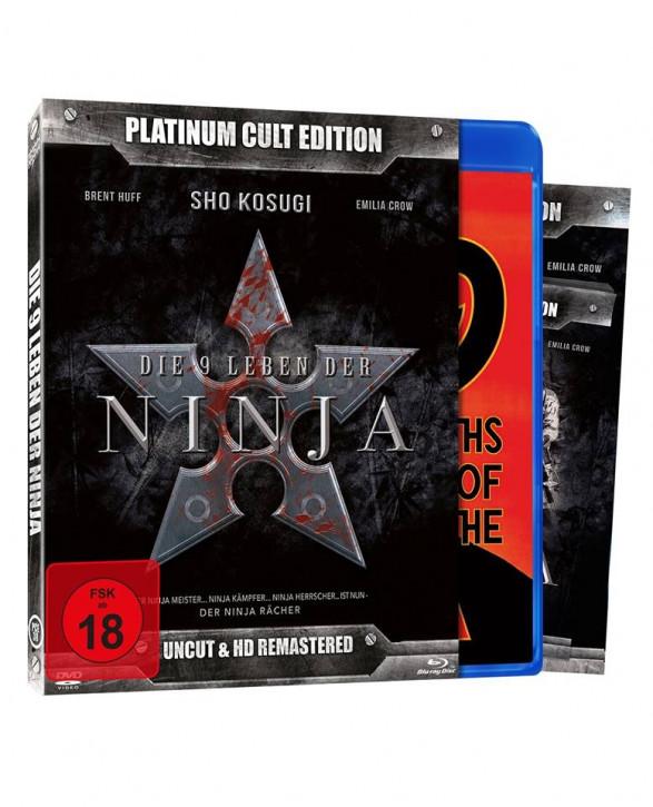 Die 9 Leben der Ninja (Platinum-Cult-Edition) [Blu-ray+DVD]