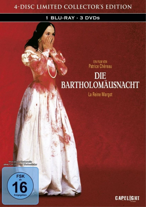 Die Bartholomäusnacht - Limited Collectors Edition - [Blu-ray+DVD]