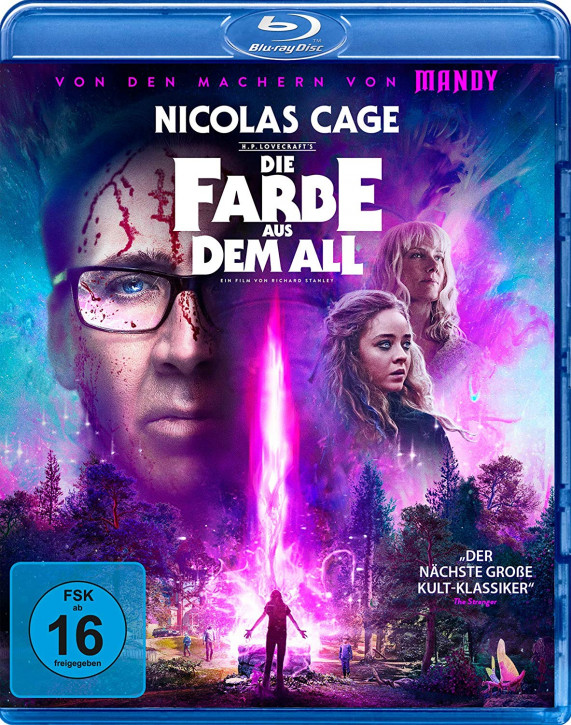 Die Farbe aus dem All - Color Out of Space [Blu-ray]