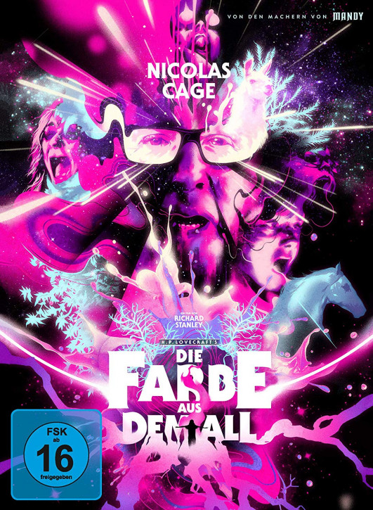 Die Farbe aus dem All - Color Out of Space - Limited Mediabook Edition - Cover B [4K Ultra HD+Blu-ray]