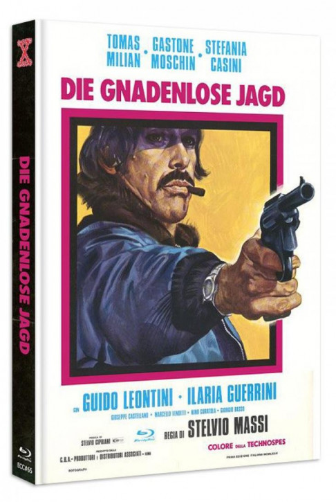 Die Gnadenlose Jagd - Eurocult Collection #065 - Mediabook - Cover A [Blu-ray+DVD]