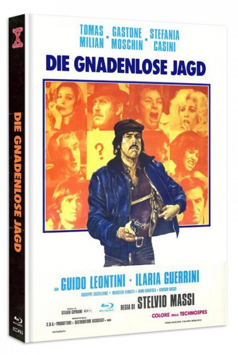 Die Gnadenlose Jagd - Eurocult Collection #065 - Mediabook - Cover B [Blu-ray+DVD]