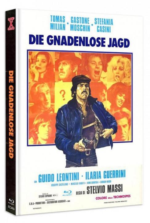 Die Gnadenlose Jagd - Eurocult Collection #065 - Mediabook - Cover B [Blu-ray+DVD]