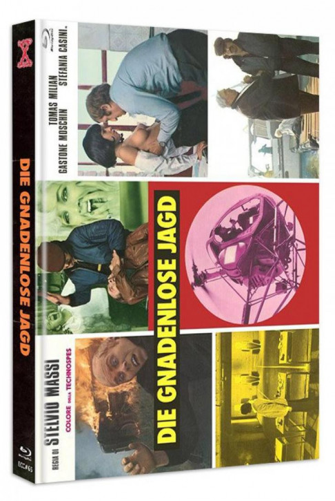 Die Gnadenlose Jagd - Eurocult Collection #065 - Mediabook - Cover C [Blu-ray+DVD]