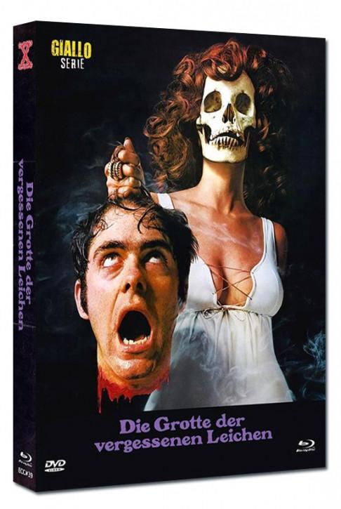 Die Grotte der vergessenen Leichen - Eurocult Collection #039 - Mediabook - Cover B [Blu-ray+DVD]