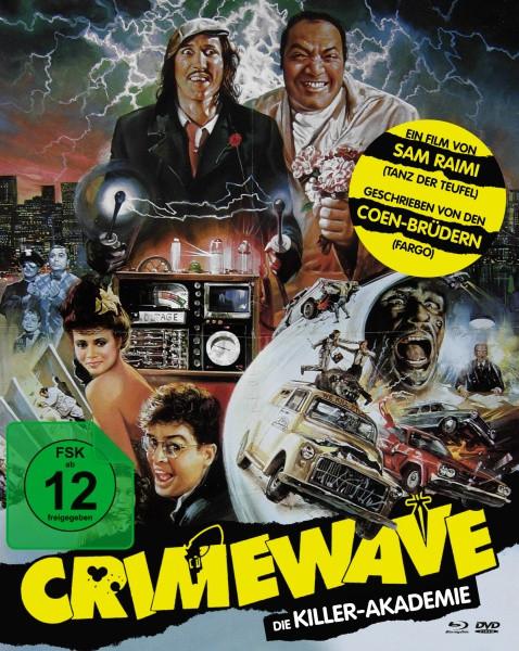 Crimewave - Die Killer-Akademie - Limited Mediabook Edition - Cover A [Blu-ray+DVD]