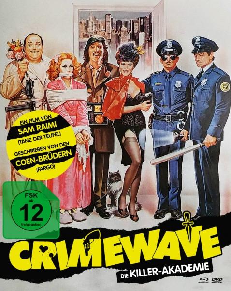 Crimewave - Die Killer-Akademie - Limited Mediabook Edition - Cover B [Blu-ray+DVD]