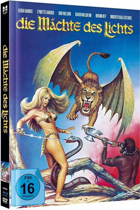 Die Mächte des Lichts - Limited Mediabook Edition [Blu-ray+DVD]