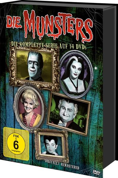 Die Munsters - Die komplette Serie [DVD]