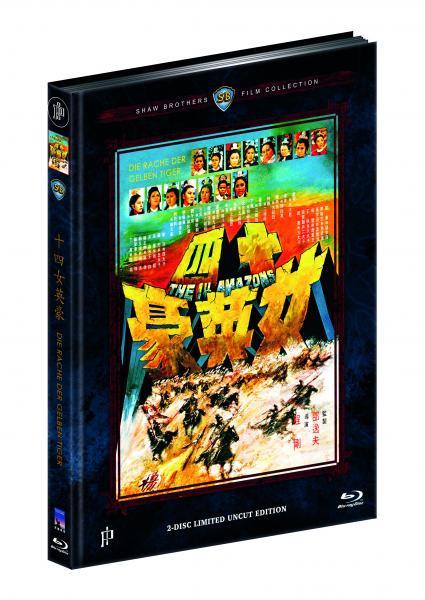 Die Rache der gelben Tiger - Mediabook - Cover D [Blu-ray+DVD]