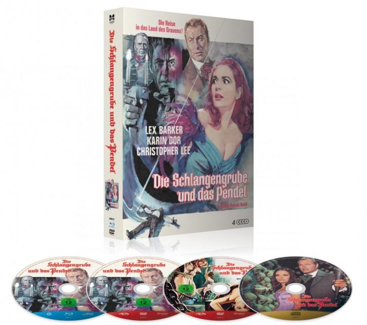 Die Schlangengrube und das Pendel - Limited Deluxe Mediabook [Blu-ray+DVD]
