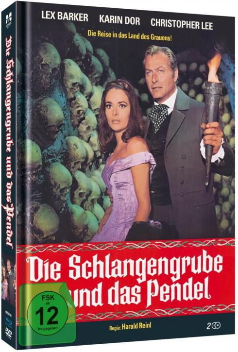 Die Schlangengrube und das Pendel - Limited Mediabook Edition [Blu-ray+DVD]