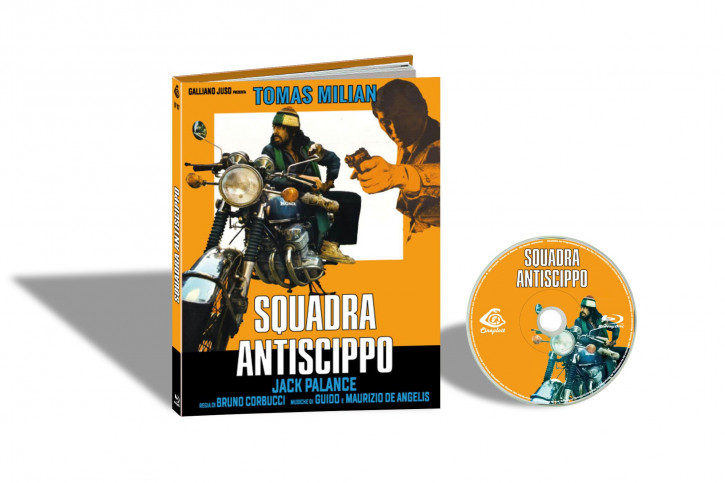 Squadra Antiscippo (Die Strickmütze) - Limited Mediabook Edition - Cover A [Blu-ray]