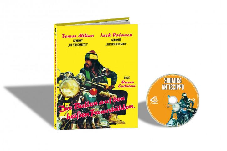 Squadra Antiscippo (Die Strickmütze) - Limited Mediabook Edition - Cover C [Blu-ray]