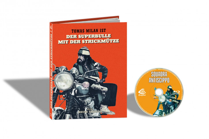 Squadra Antiscippo (Die Strickmütze) - Limited Mediabook Edition - Cover D [Blu-ray]