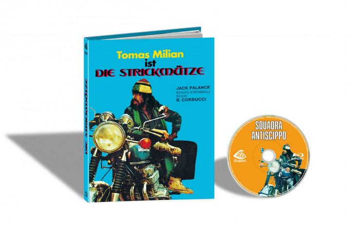 Squadra Antiscippo (Die Strickmütze) - Limited Mediabook Edition - Cover E [Blu-ray]