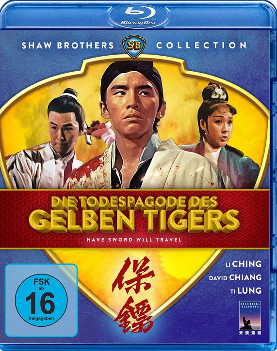 Die Todespagode des gelben Tigers [Blu-ray]