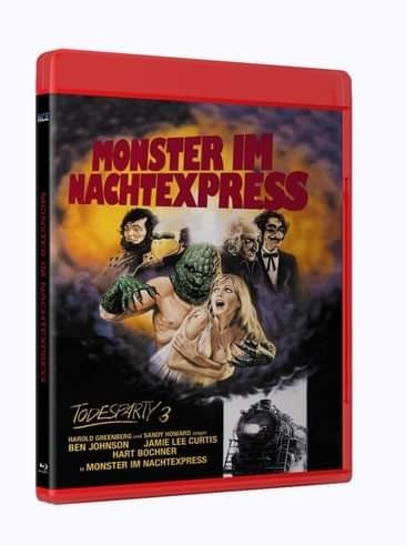 Die Todesparty 3 - Monster im Nachtexpress [Blu-ray]