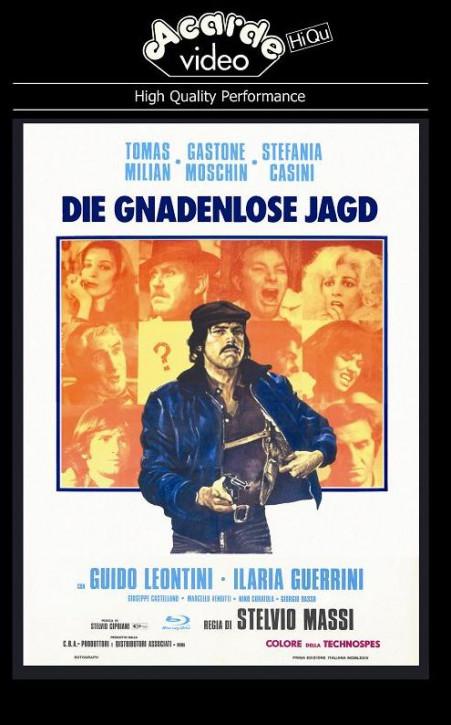 Die Gnadenlose Jagd - grosse Hartbox - Cover B [Blu-ray]