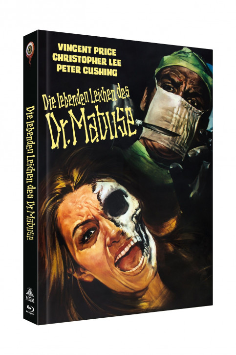 Die lebenden Leichen des Dr. Mabuse - Limited Collectors Edition Cover B [Blu-ray+DVD]