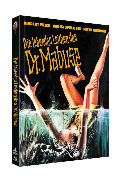 Die lebenden Leichen des Dr. Mabuse - Limited Collectors Edition Cover C [Blu-ray+DVD]