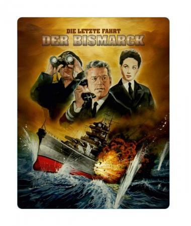 Die letzte Fahrt der Bismarck (Future Pak) [Blu-ray]