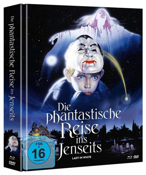 Die phantastische Reise ins Jenseits -Mediabook - Cover A - [Blu-ray+DVD]