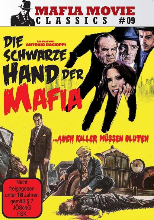 Die schwarze Hand der Mafia - Auch Killer müssen bluten (Mafia Movie Classics #09) [DVD]