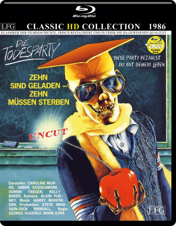 Die Todesparty (Classic HD Collection ) [Blu-ray]