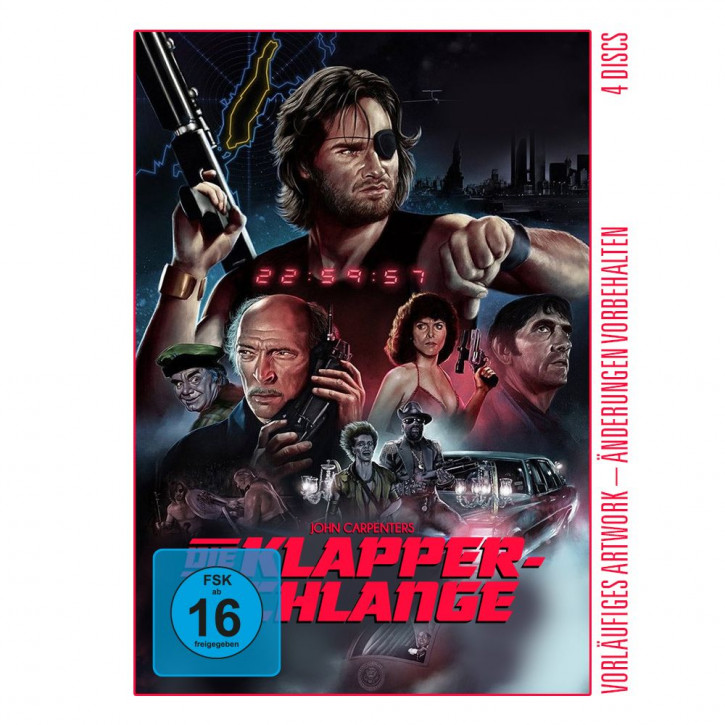 Die Klapperschlange - Limited Mediabook Edition - Cover D [4K UHD+Blu-ray+CD]