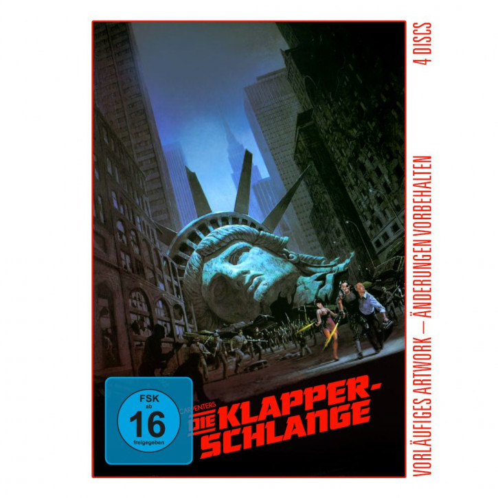 Die Klapperschlange - Limited Mediabook Edition - Cover E [4K UHD+Blu-ray+CD]